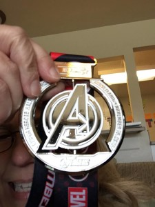 My medal for finishing